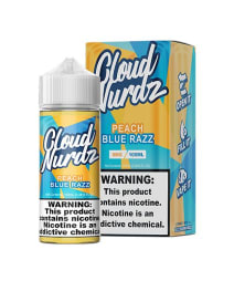 Cloud Nurdz Peach Blue Razz