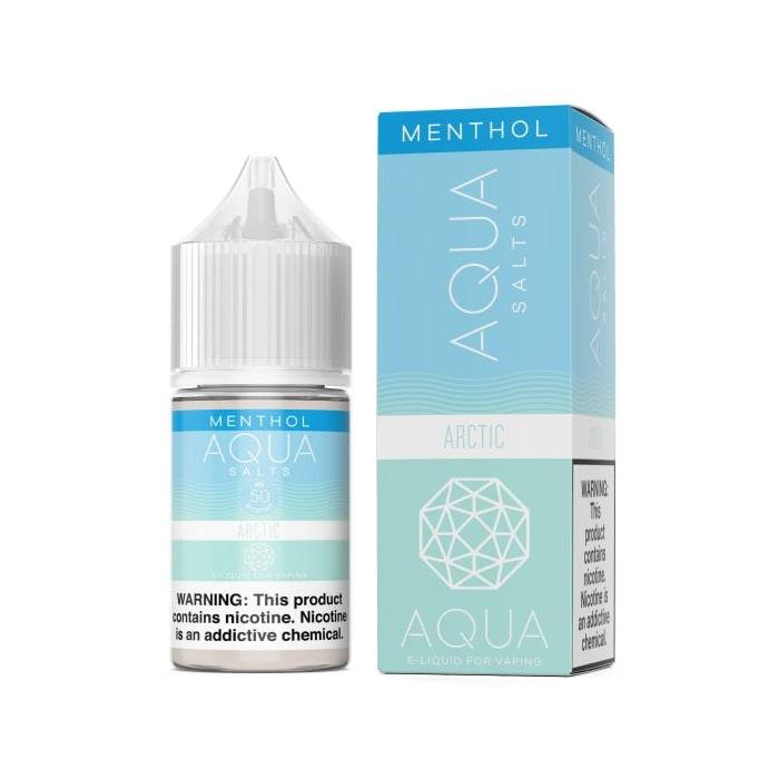 Aqua NTN Salts Menthol Arctic