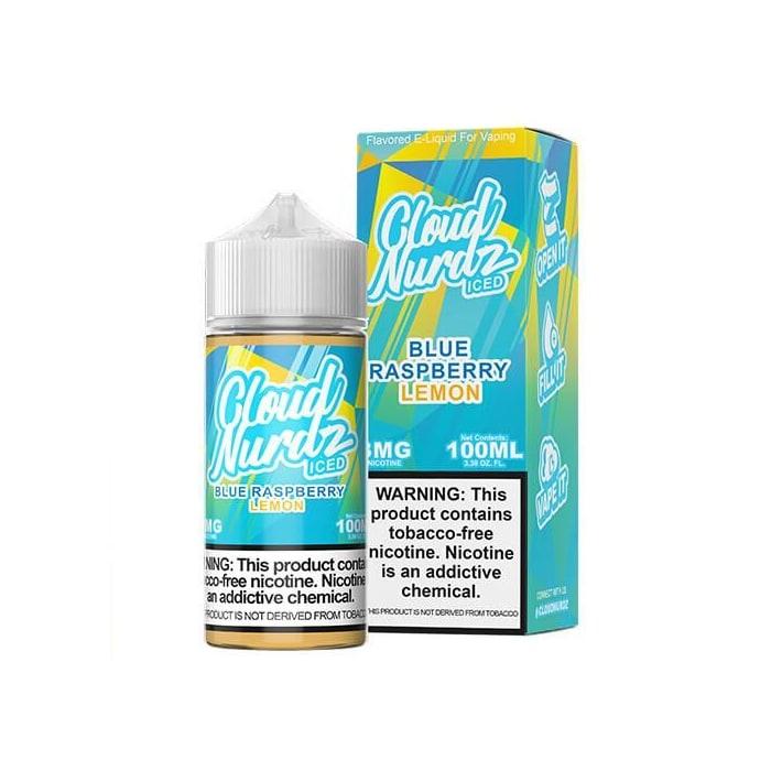Cloud Nurdz TFN Blue Raspberry Lemon Iced