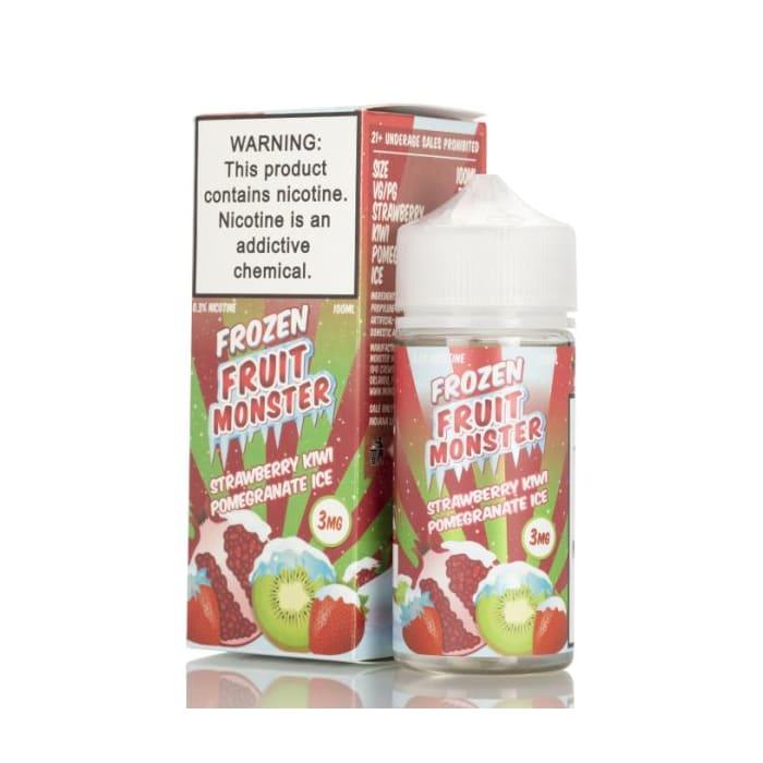 Frozen Fruit Monster Strawberry Kiwi Pomegranate Ice