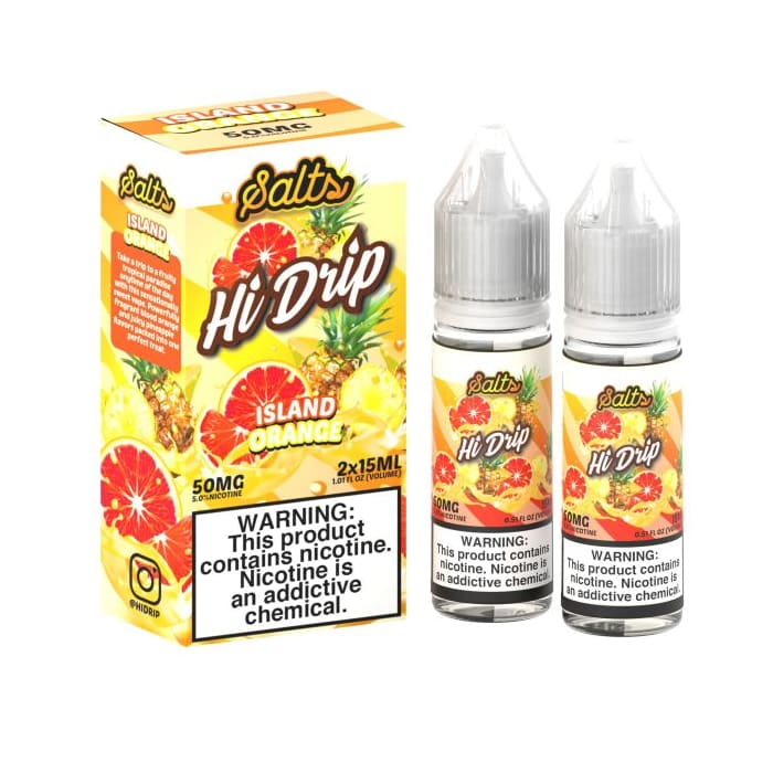Hi-Drip Salt Island Orange - 2 Pack