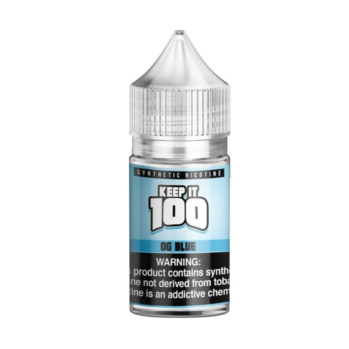 Keep It 100 Synthetic Salt OG Blue