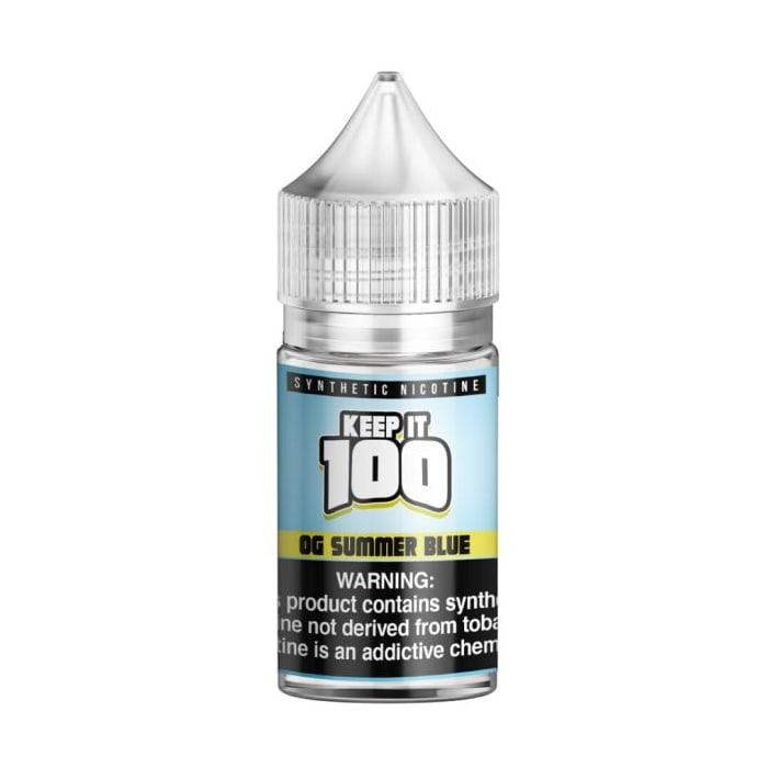 Keep It 100 Synthetic Salt OG Summer Blue