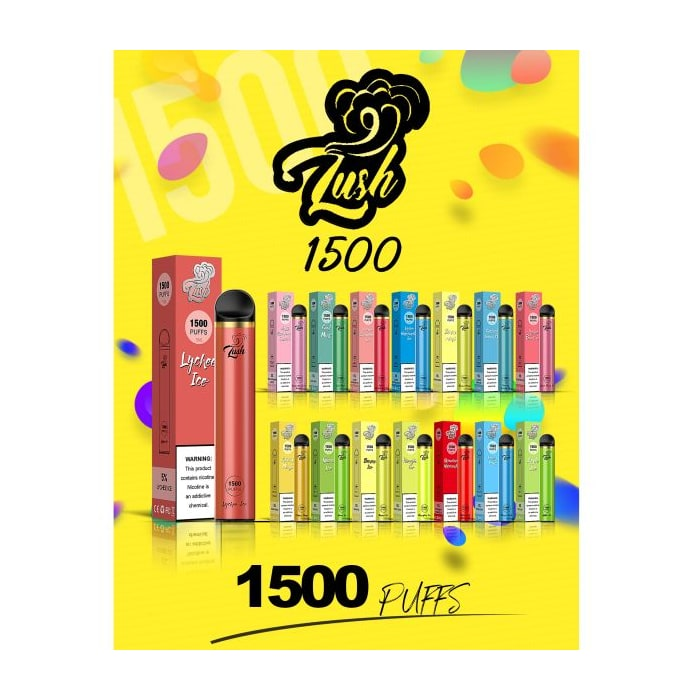 Lush 1500 Disposable - 1 Pack
