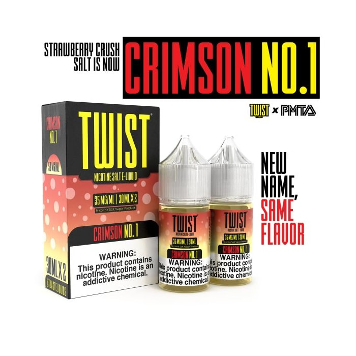 Twist Salts Crimson No. 1 - 2 Pack