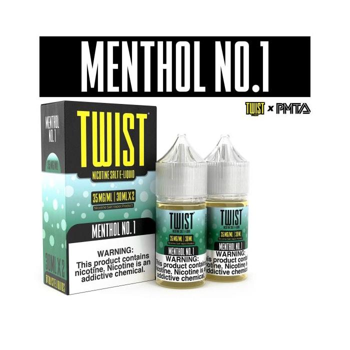 Twist Salts Menthol No. 1 - 2 Pack