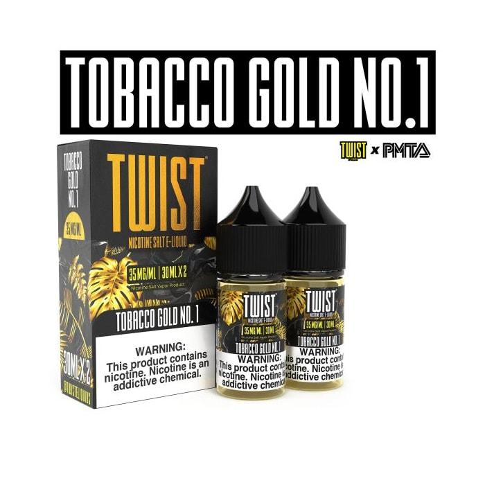 Twist Salts Tobacco Gold No. 1 - 2 Pack
