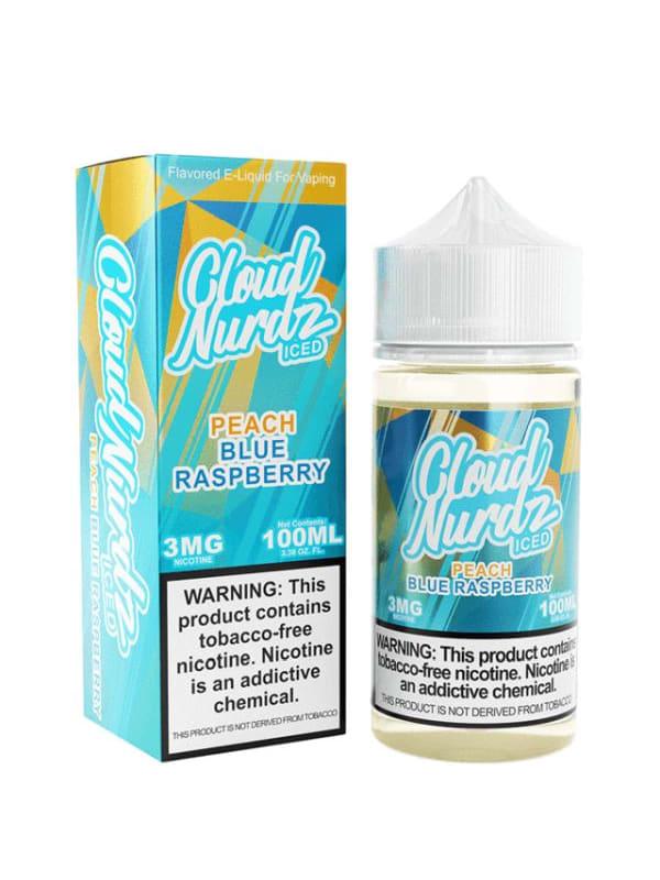 Cloud Nurdz TFN Peach Blue Raspberry Iced