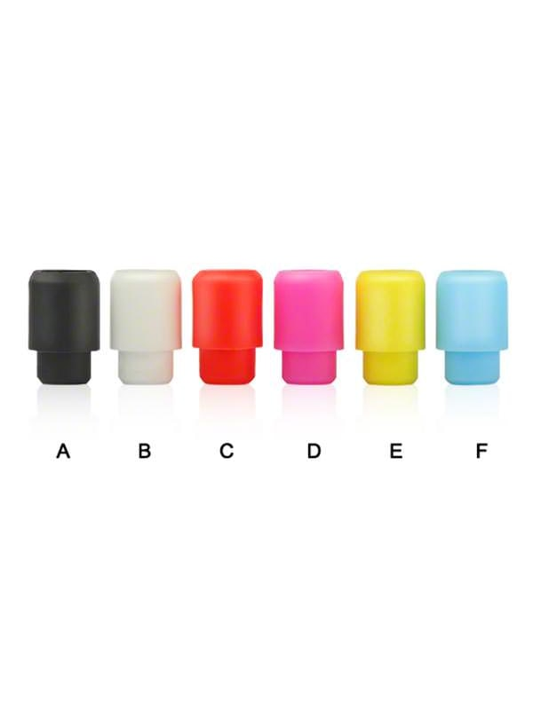 Disposable Rubber Drip Tips - 50 Pack