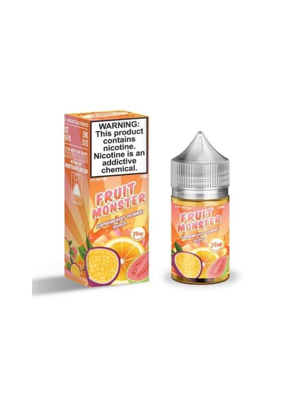 Fruit Monster Salts Passionfruit Orange Guava
