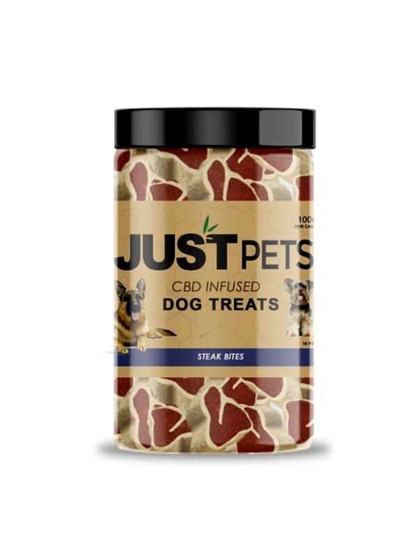 Just Brands Steak Bites Dog Treats