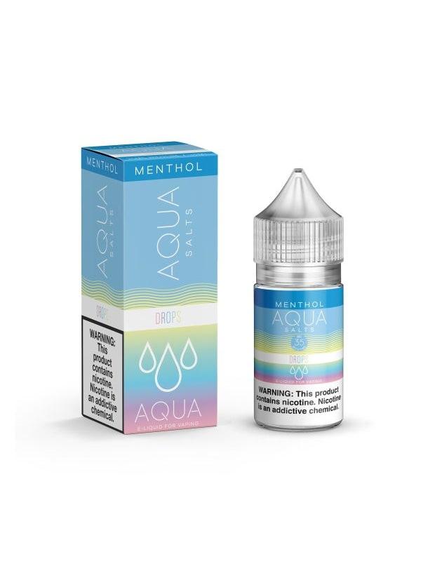 Aqua Salts Drops Menthol Synthetic