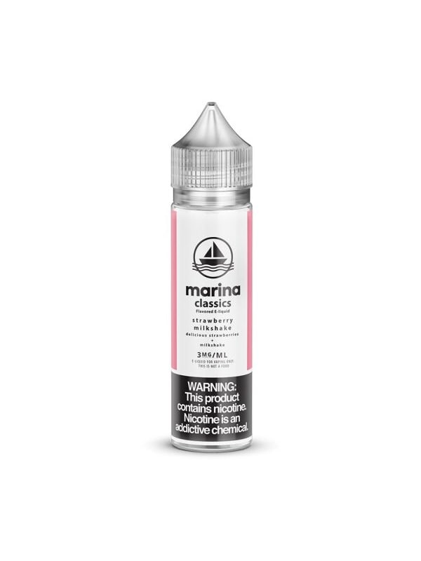 Marina Vape Classics Strawberry Milkshake