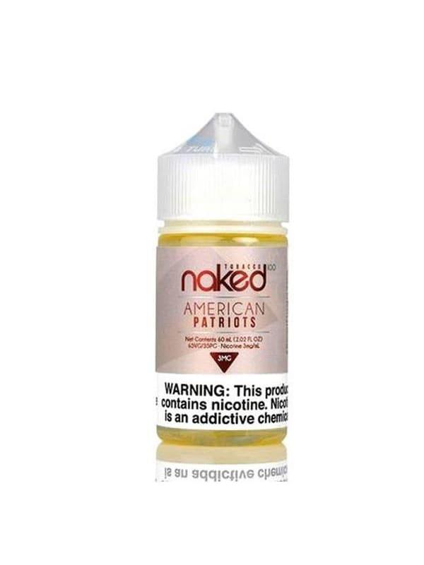 Naked 100 American Patriot
