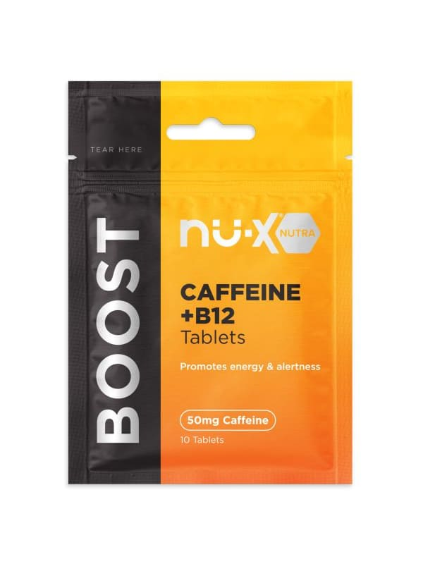 Nu-X Caffeine/B12 Chewable Tablets Boost - Pack