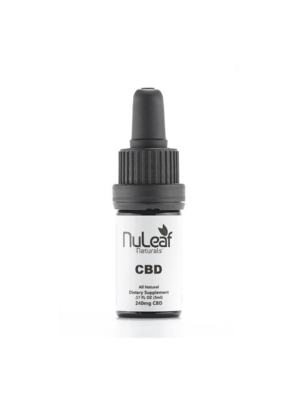 NuLeaf Full Spectrum Tincture Oil