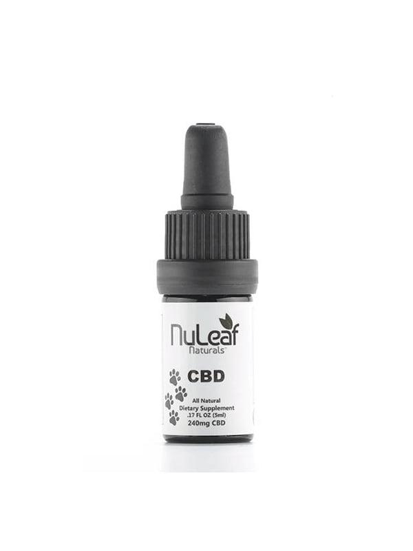 NuLeaf Full Spectrum Tincture Pet Oil