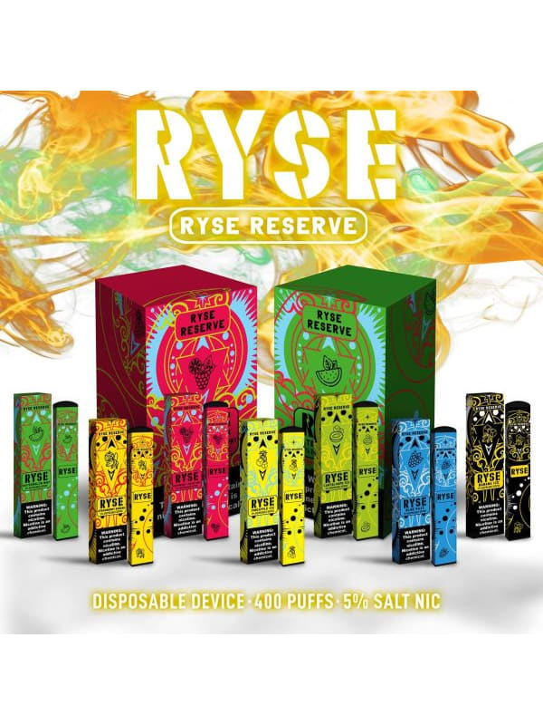 Ryse Bar Reserve - 10 Pack