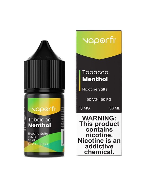 VaporFi Tobacco Menthol Salt