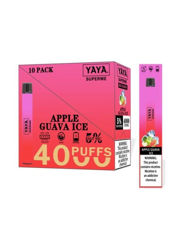 YAYA SUPERME 4K Disposable - 10 Pack