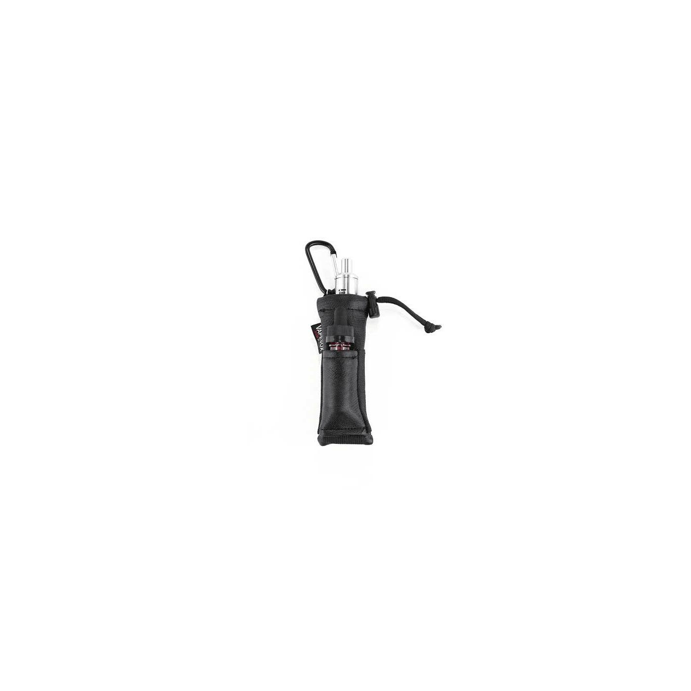 Vapesox VS5 Mod Holder - Black Lizard with Items