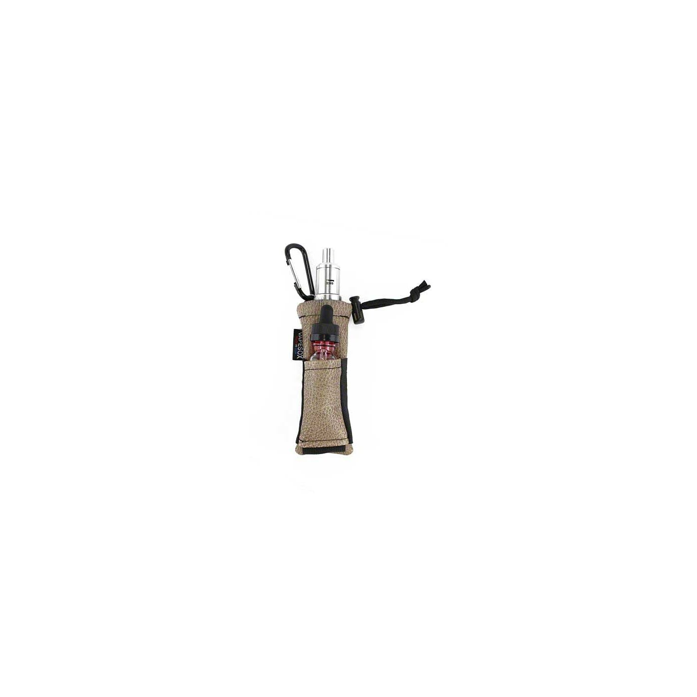 Vapesox VS5 Mod Holder - Cocoa Faux Leather Items