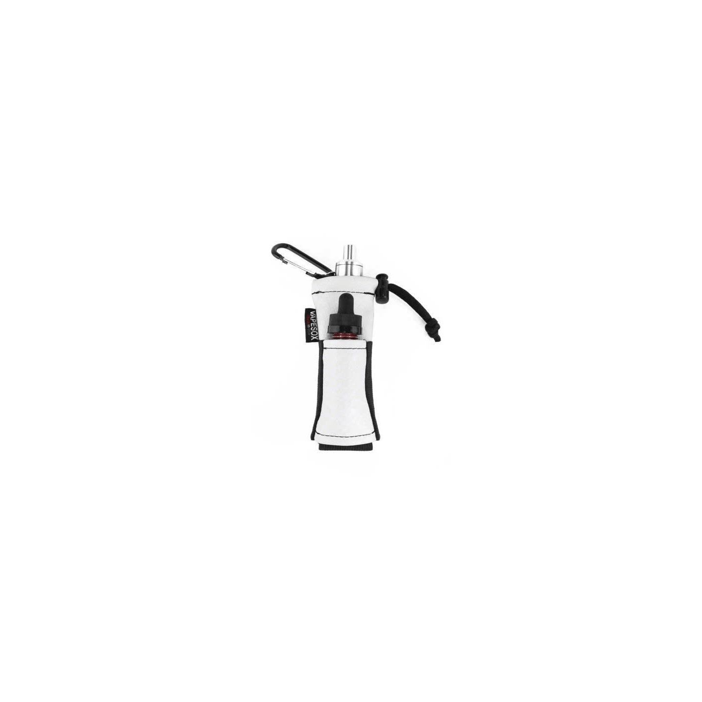 Vapesox VS5 Mod Holder - White Carbon Fiber with Items