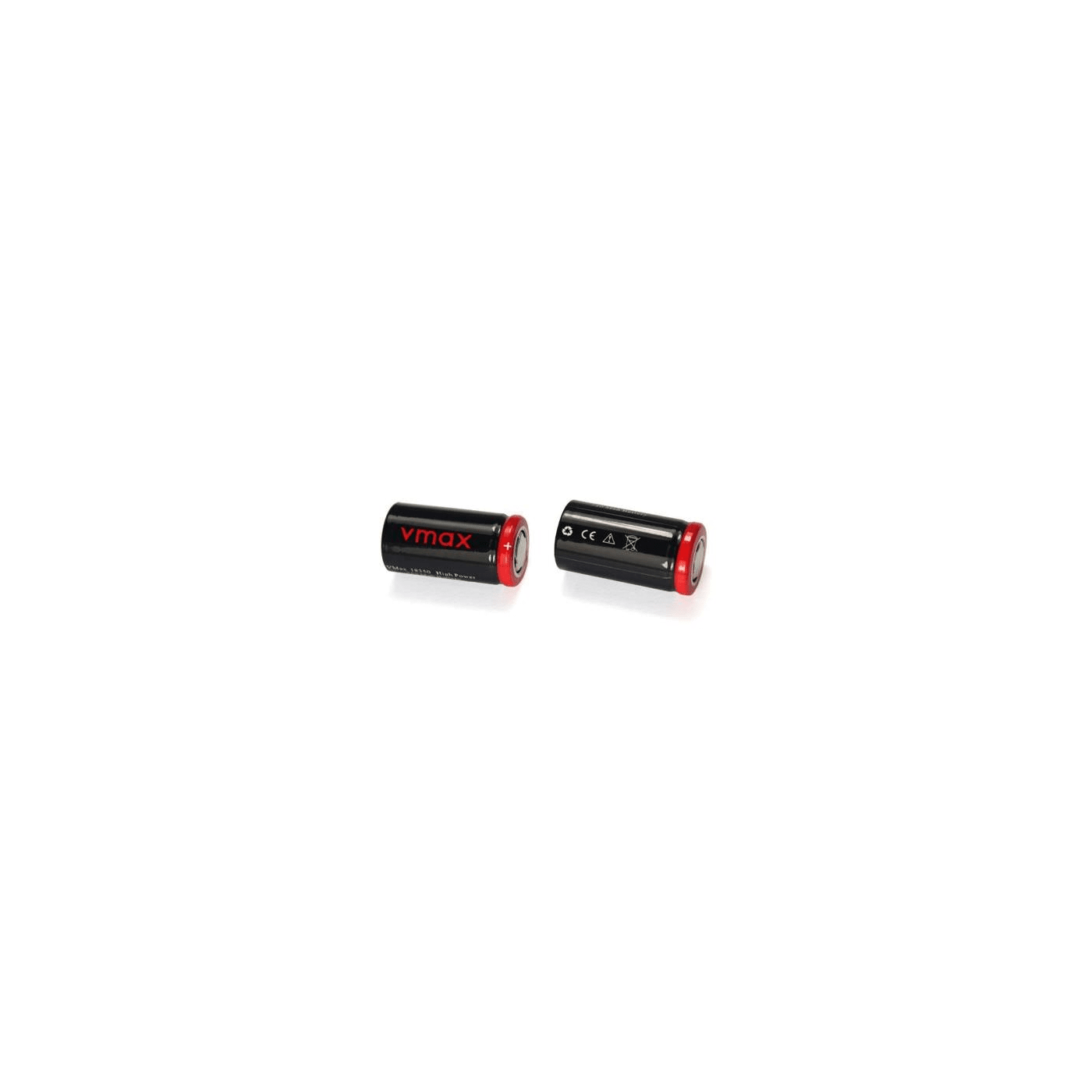 IMR 18350 Batteries 750 mAh - 2 Pack