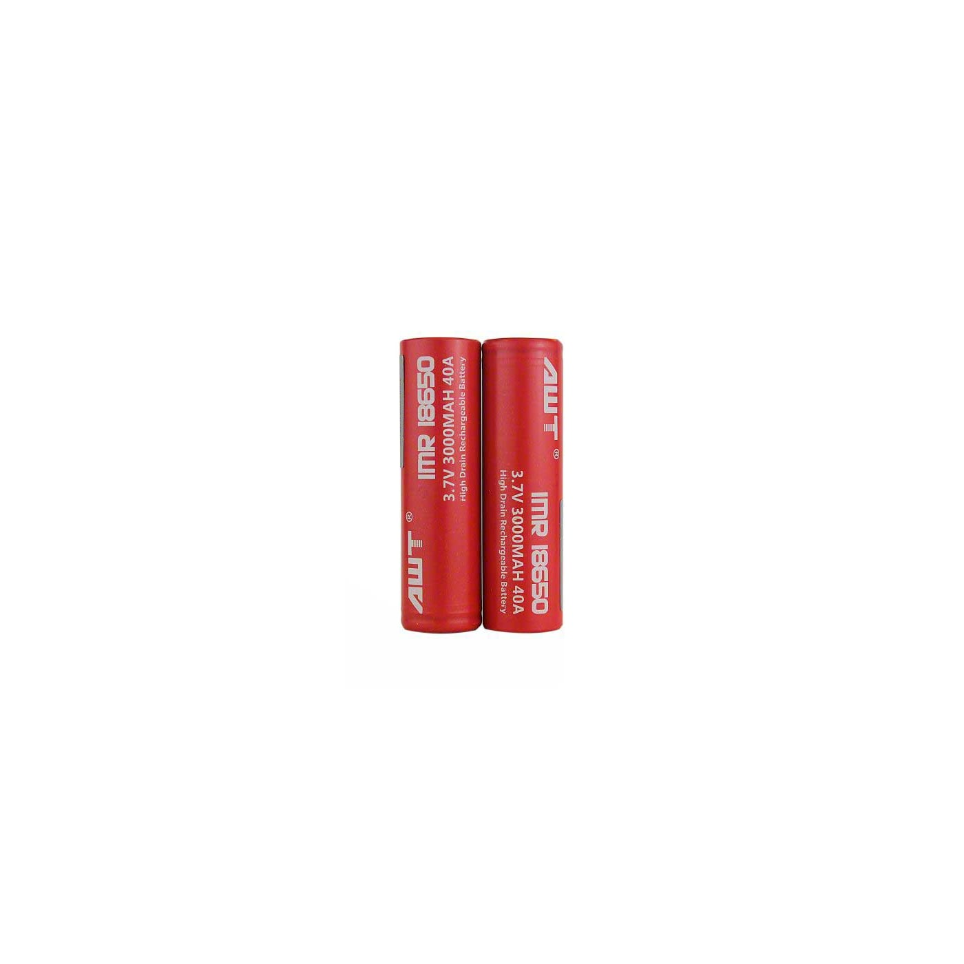 AWT 18650 40A 3000 mAh  Battery - 2 Pack