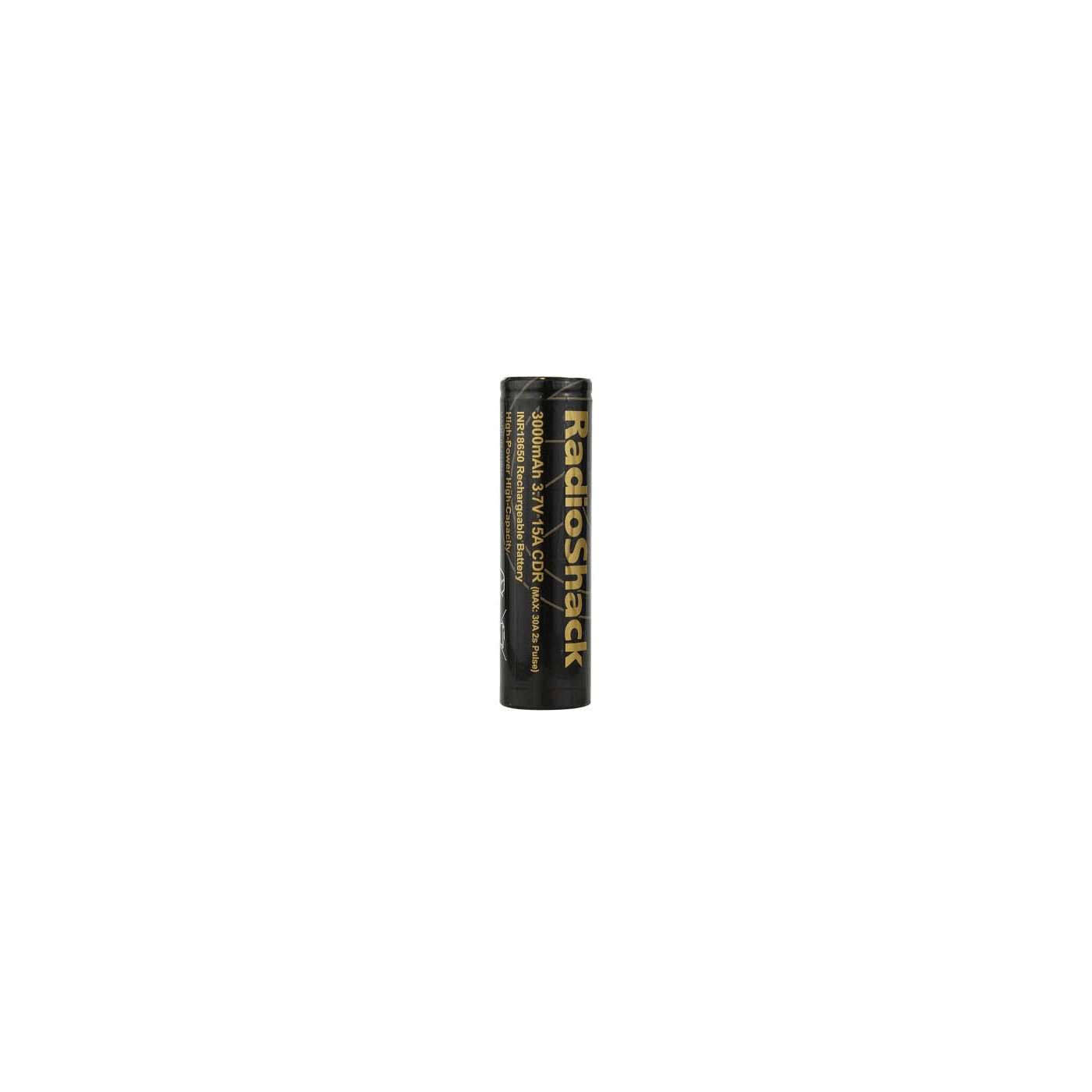 RadioShack INR 18650 15A 3000 mAh Battery - Single