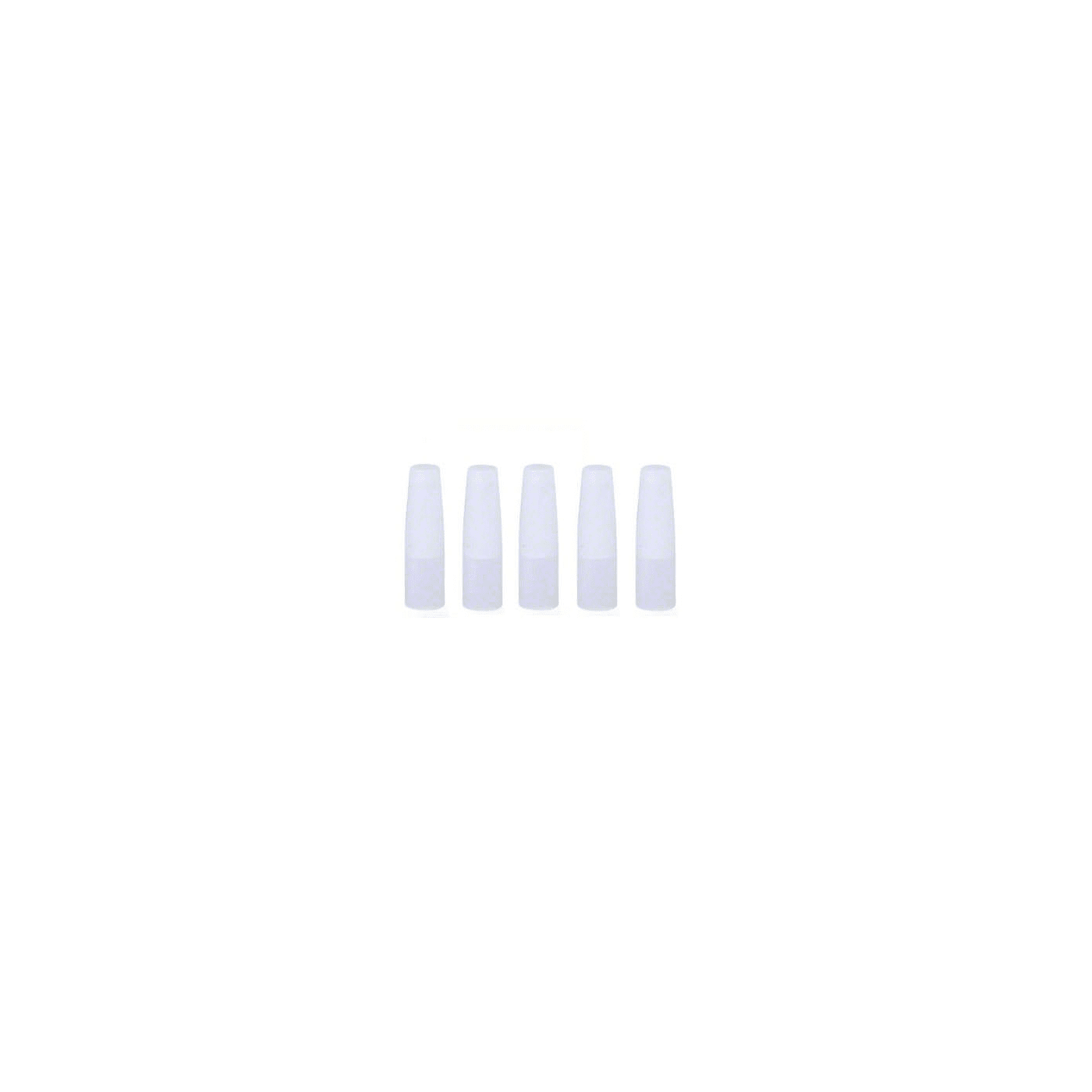 Disposable Drip Tip Cover 5 Pack - White