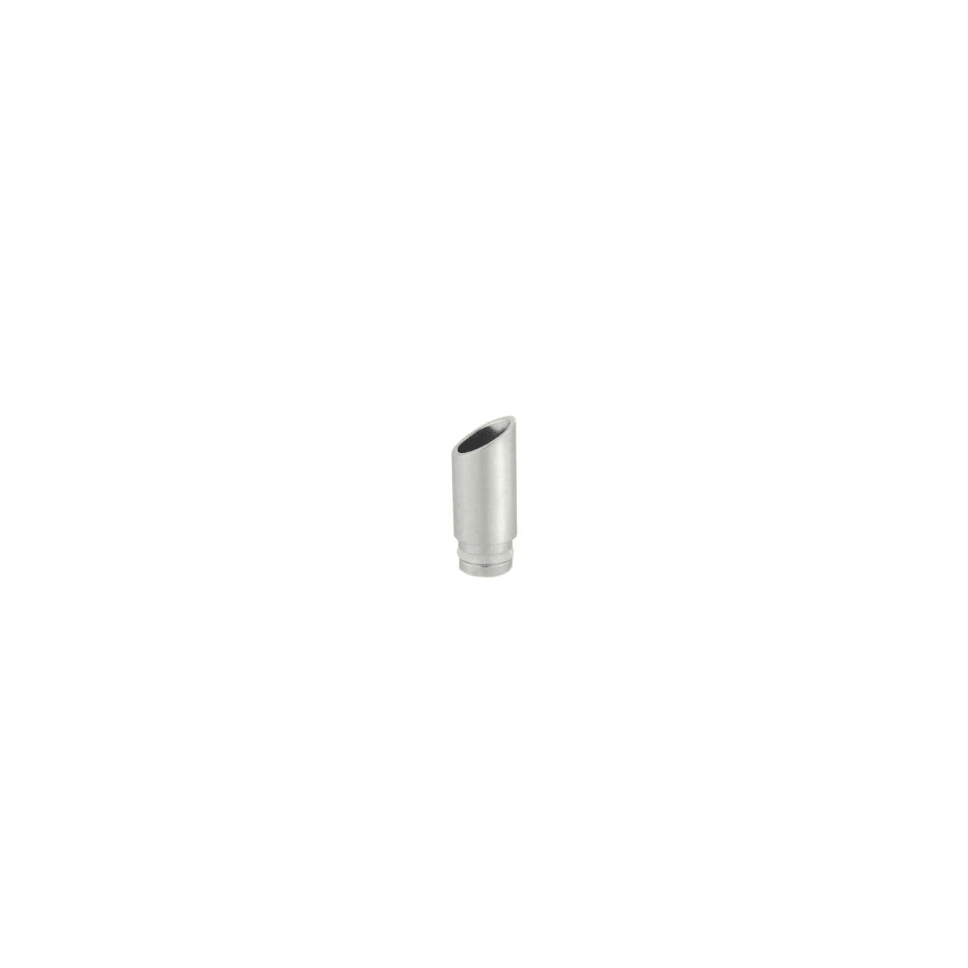 L-Cutting Drip Tip - Silver