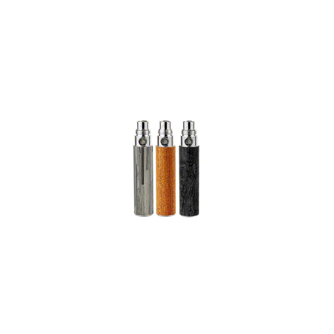 eGo Wood Style Battery 650 mAh Colors