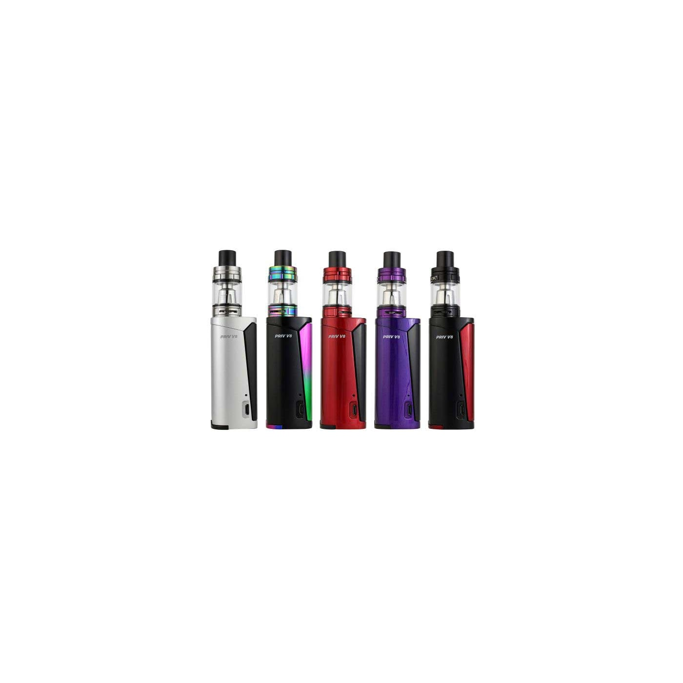 SMOK Prive V8 Starter Kit Colors