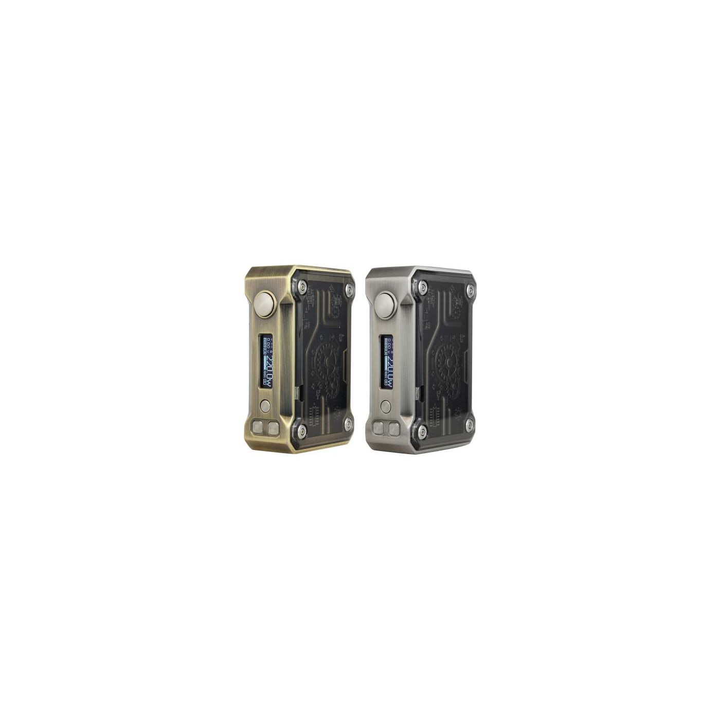 Tesla Punk 220W Box Mod Colors