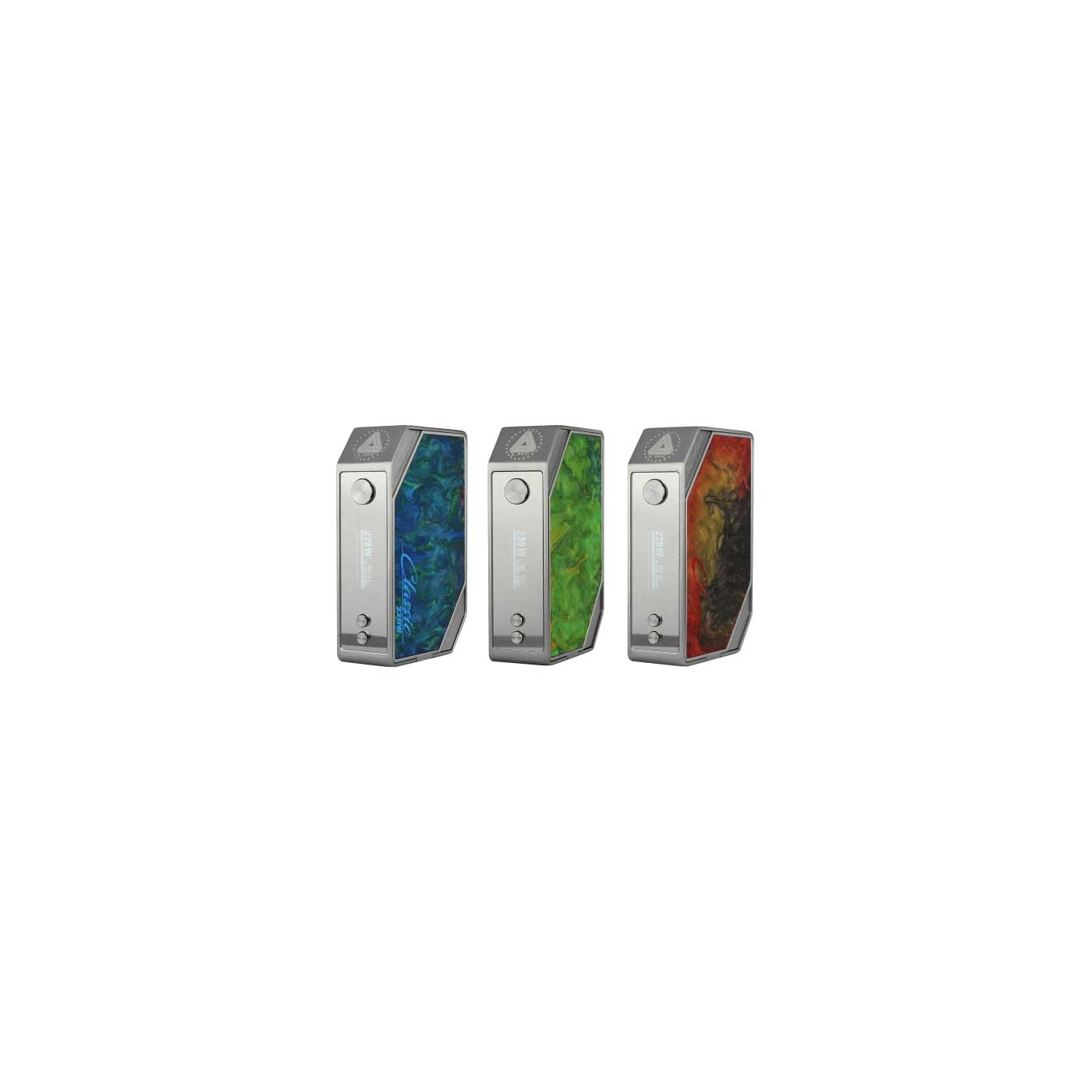 Limitless Classic V2 220W Box Mod Brushed Stainless