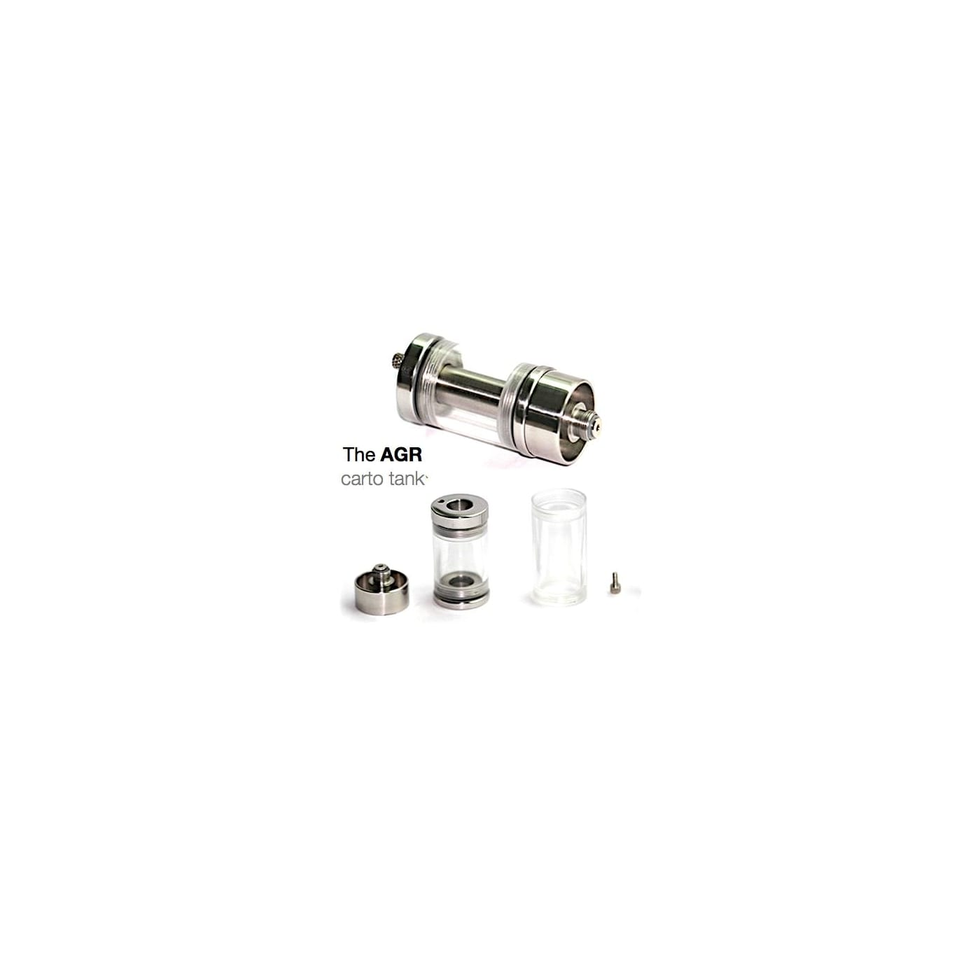 AGR Carto Tank 3-4mL - Stainless