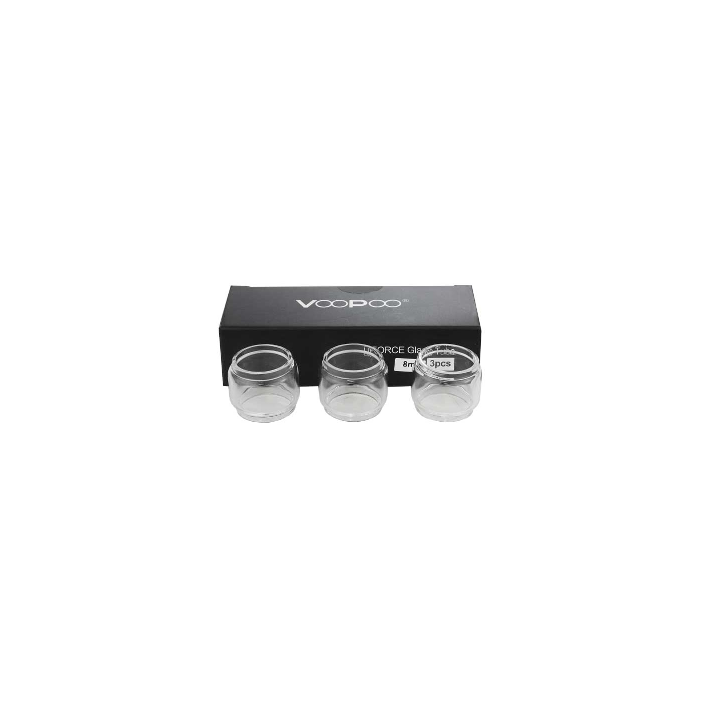 VooPoo UFORCE Replacement Glass - 8 mL - 3 pack