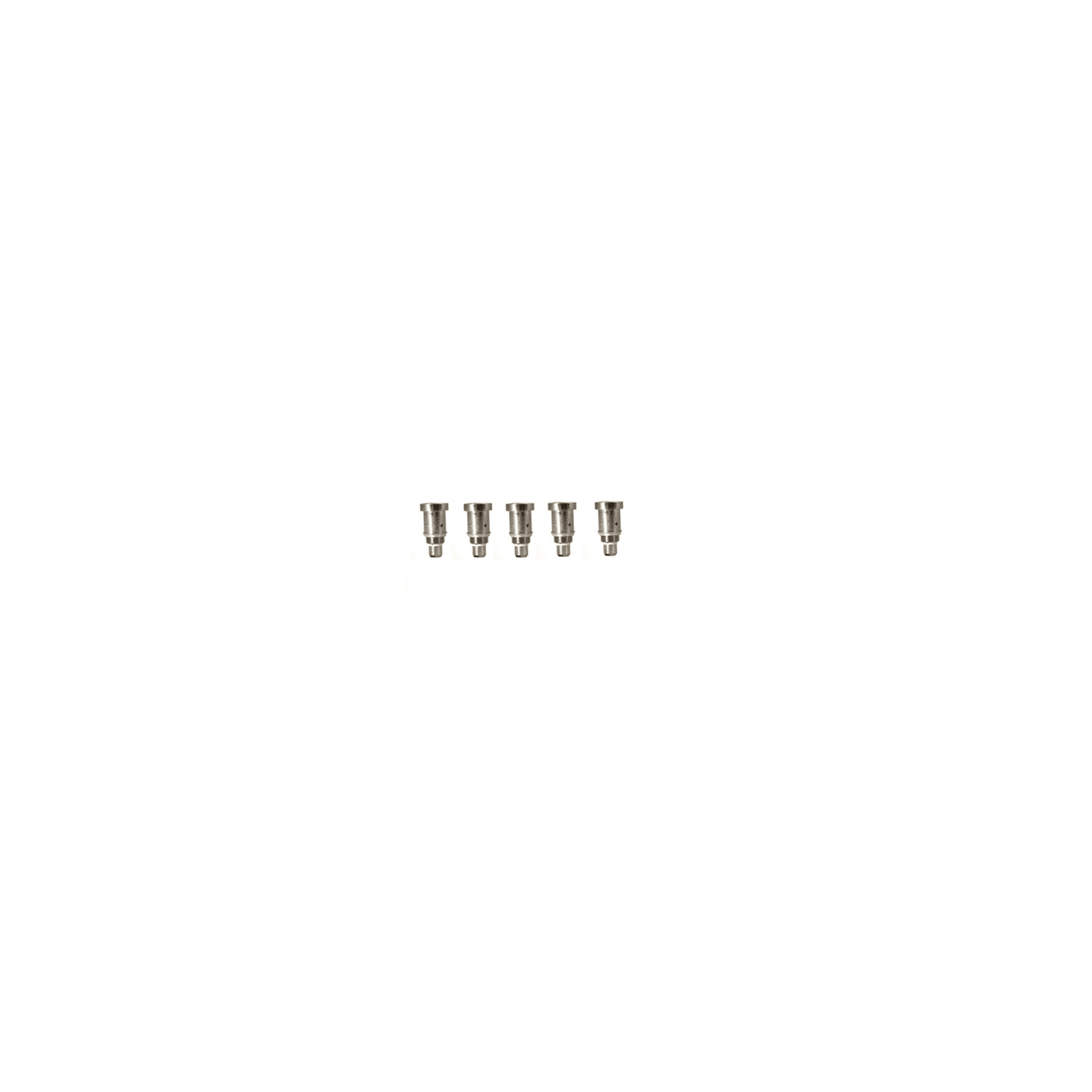 Aspire Bottom Dual Coil Replacement Head - 5 Pack