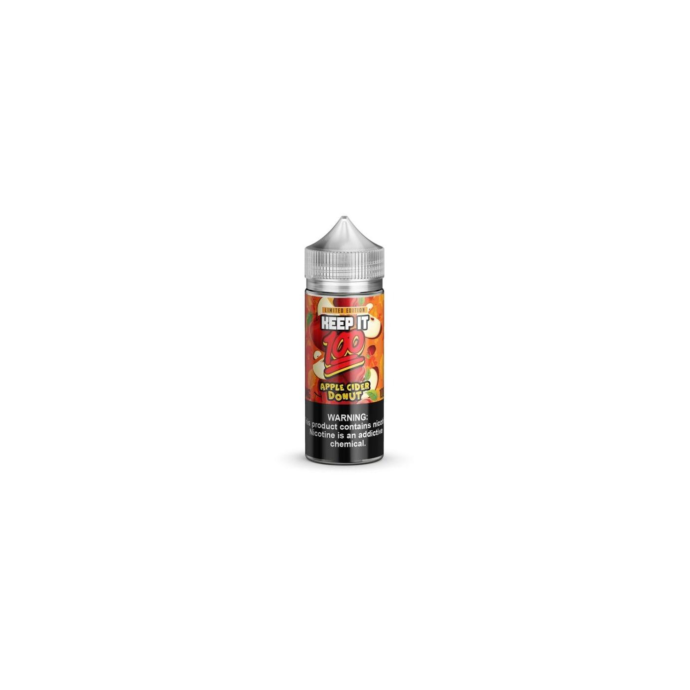 Apple Cider Donut 100ml E-liquid by Keep It 100