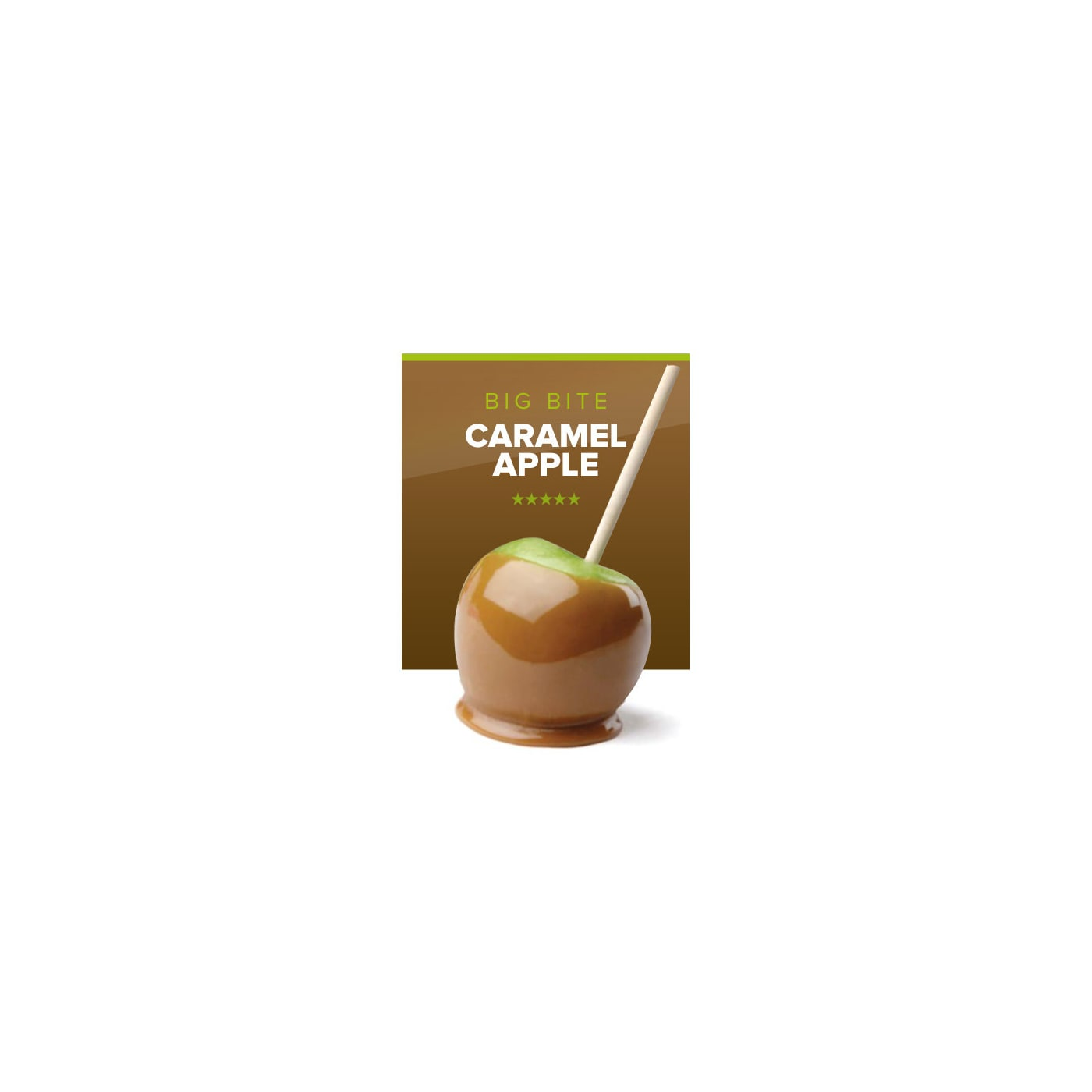 Big Bite Caramel Apple