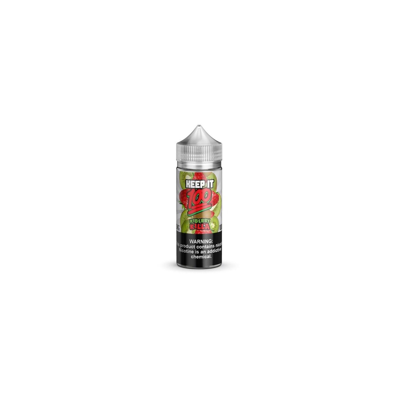 Kiberry Killa 100ml E-Juice - Keep It 100 E-liquid