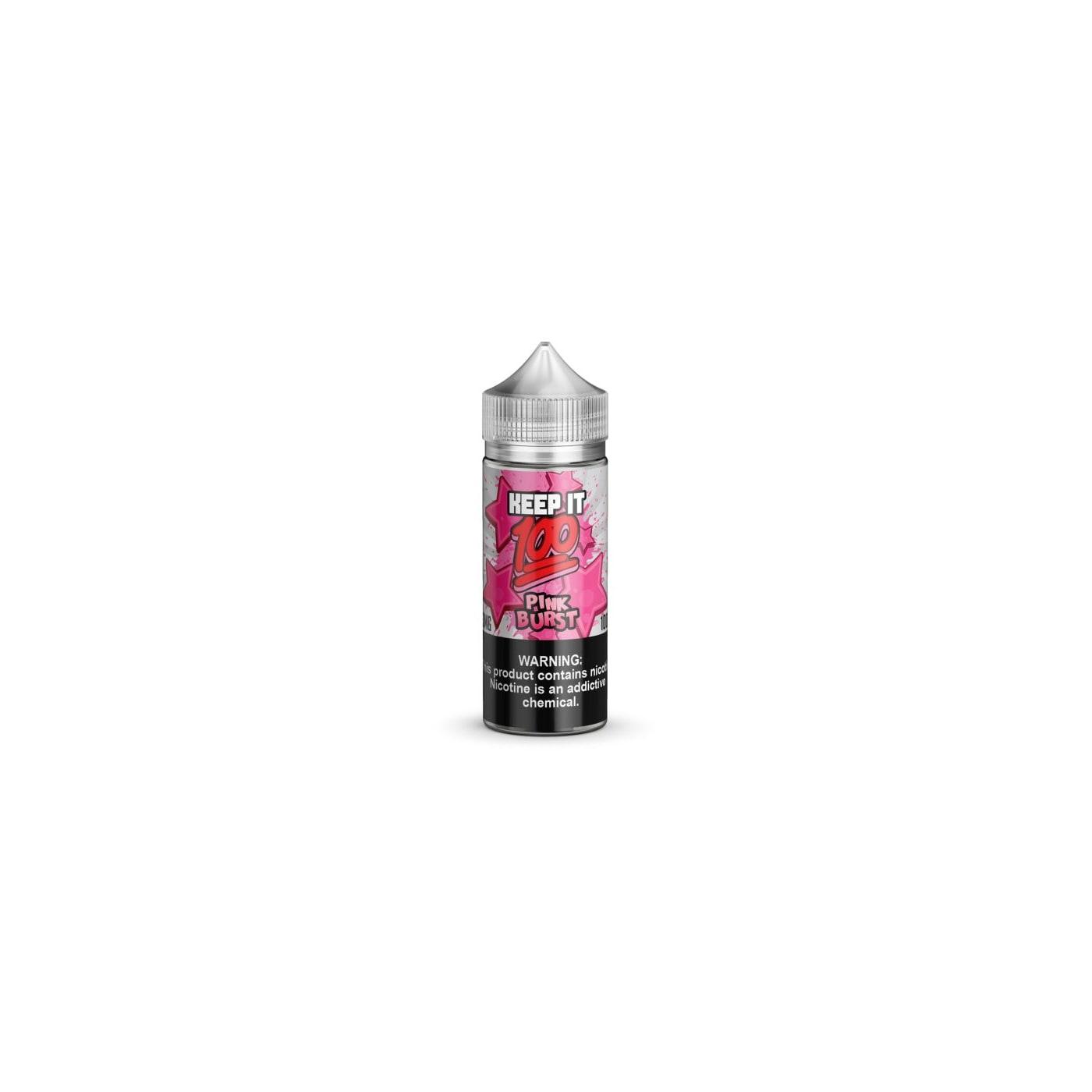Pink Burst 100ml Vape Juice by Keep It 100 E-Juice