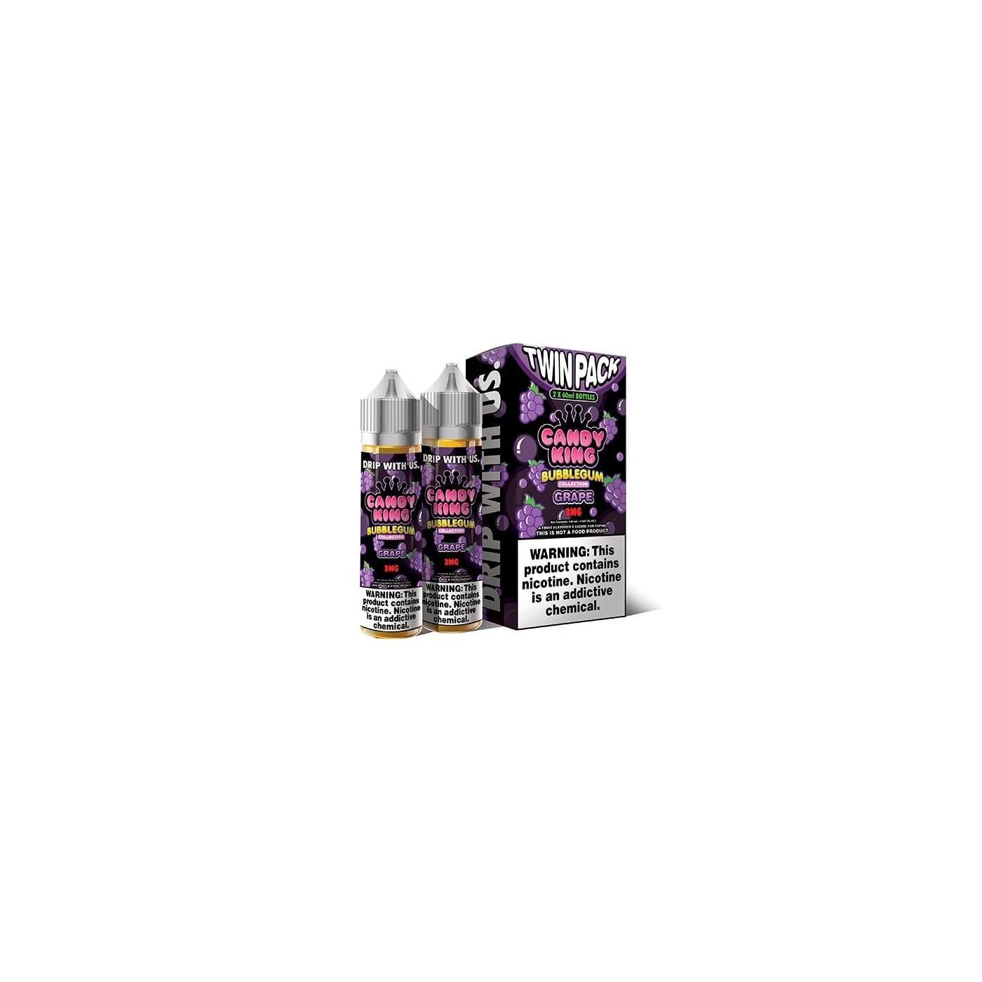 Candy King Bubblegum Grape - 2 Pack