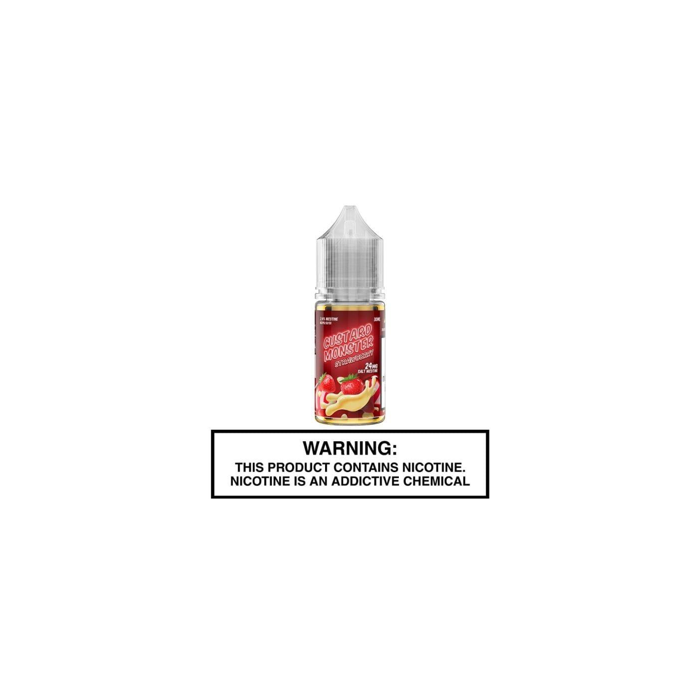 Custard Monster Salts Strawberry