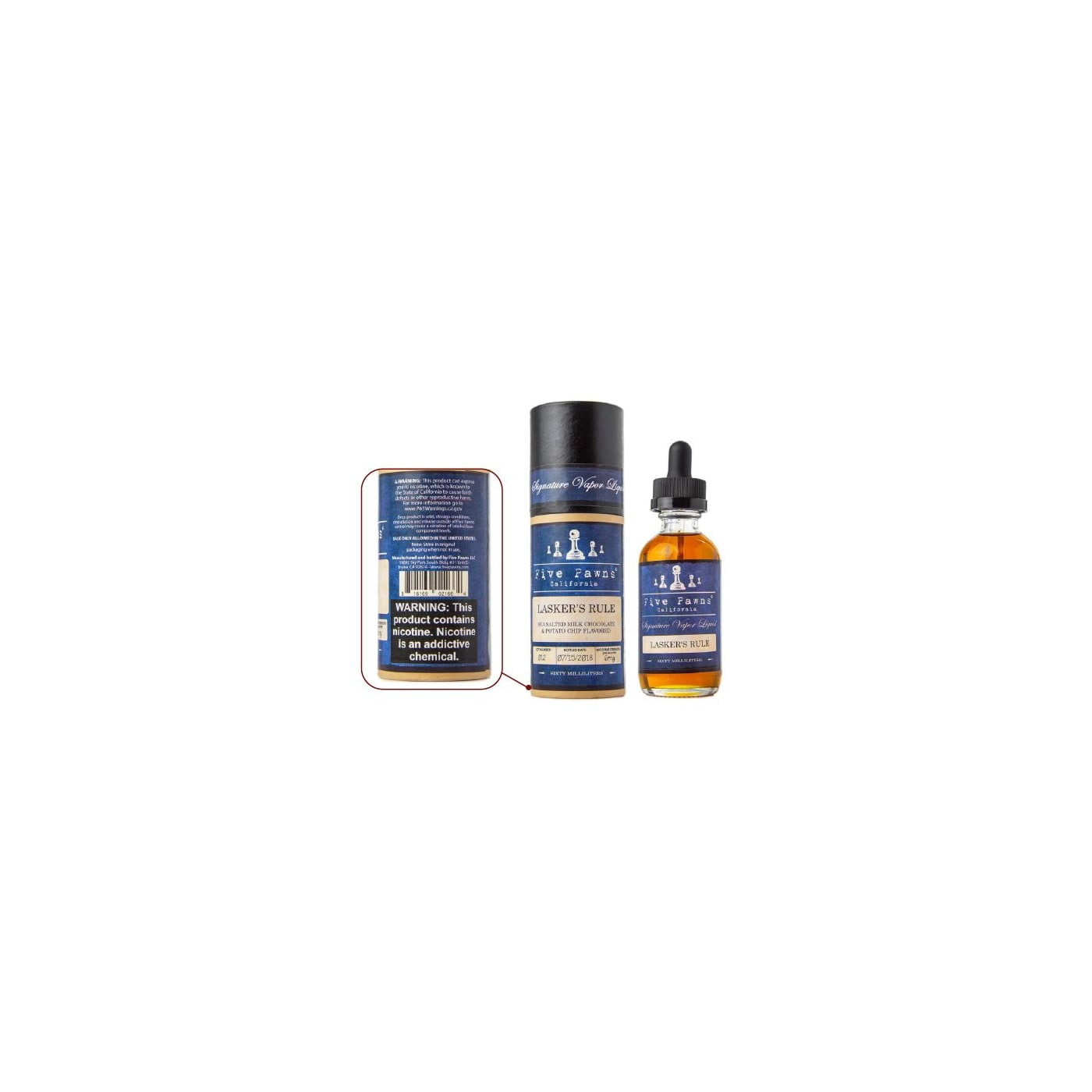 Five Pawns Blue Lasker's Rule