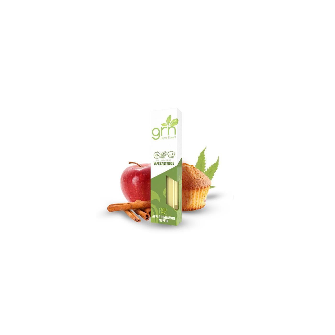 GRN Cinnamon Apple Vape Cartridge