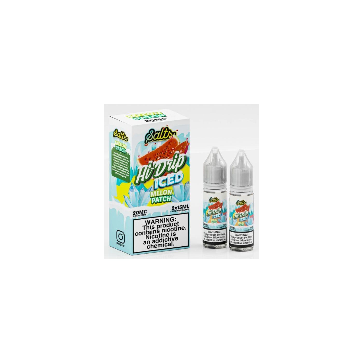 Hi-Drip Salts Iced Melon Patch - 2 Pack
