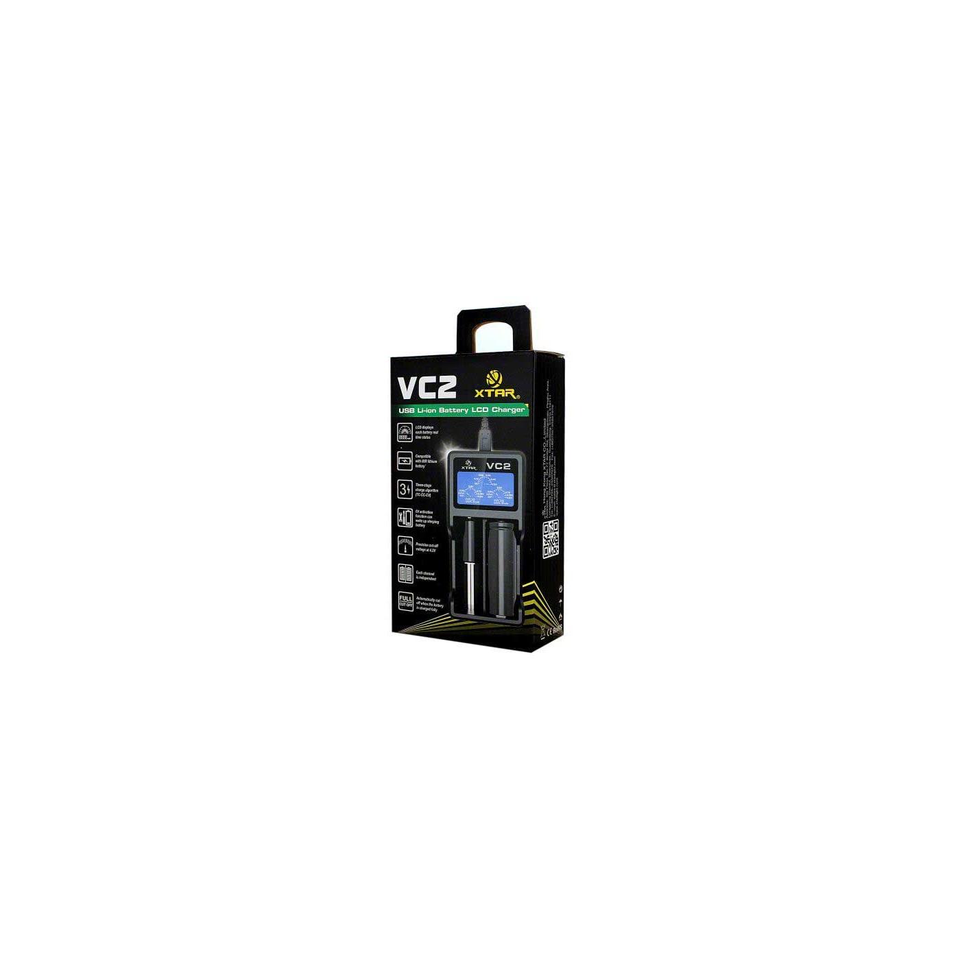 XTAR VC2 Battery Charger Box