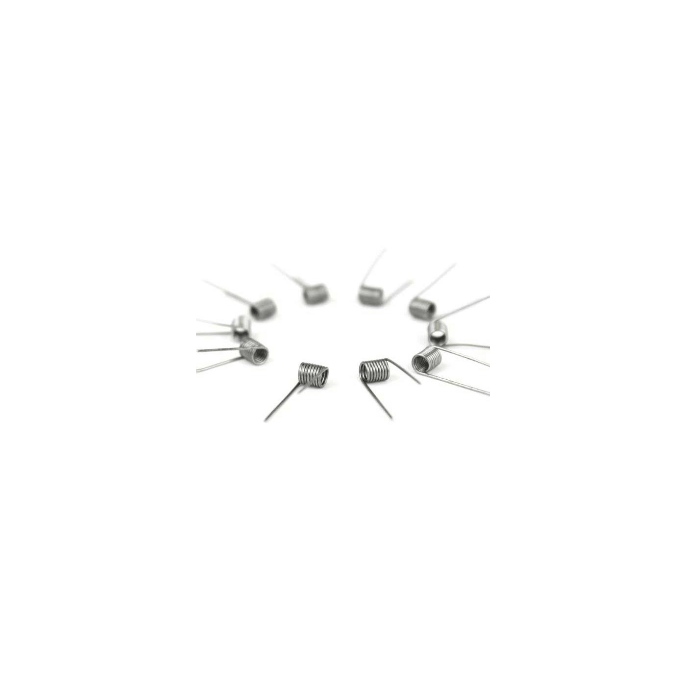 Prebuilt Sub Ohm Coils - 0.8 ohms - 10 pack